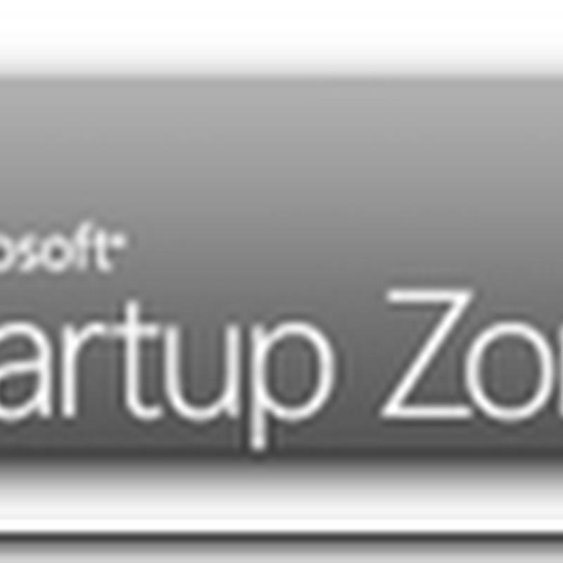 Microsoft Start Up Zone – Help for Start Up Companies