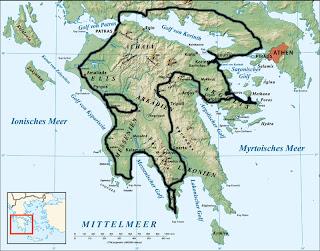 Grèce, Péloponnèse
