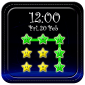 Star Pattern Screen Lock