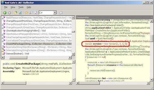 Managing a BizTalk 2006 MSI deployment packages ~ Pinhas's Blog
