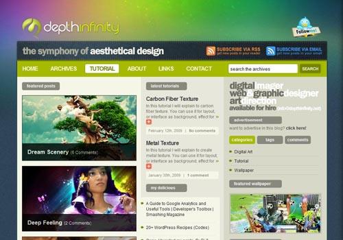 Cветовые эффекты для сайтов - «Дизайны сайтов»