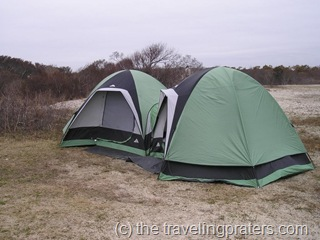 assateague island tent