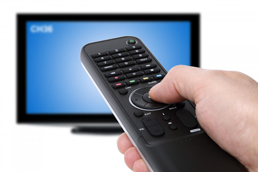 Remote control for the TV