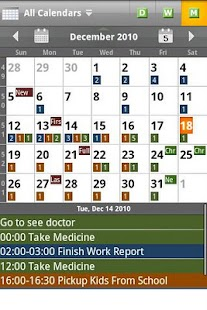 Checkmark All-in-One Calendar - screenshot thumbnail