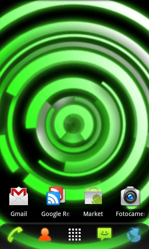 RLW Theme Green Glow- screenshot