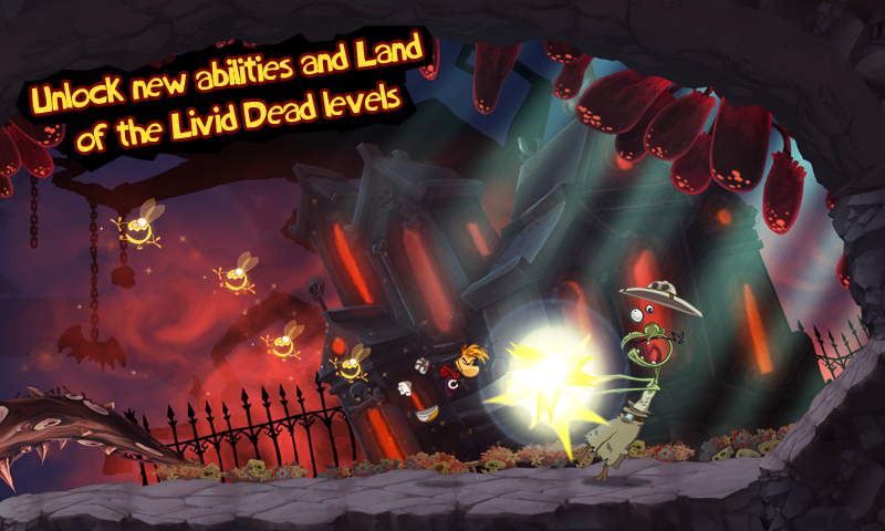 Rayman Jungle Run screenshot #10