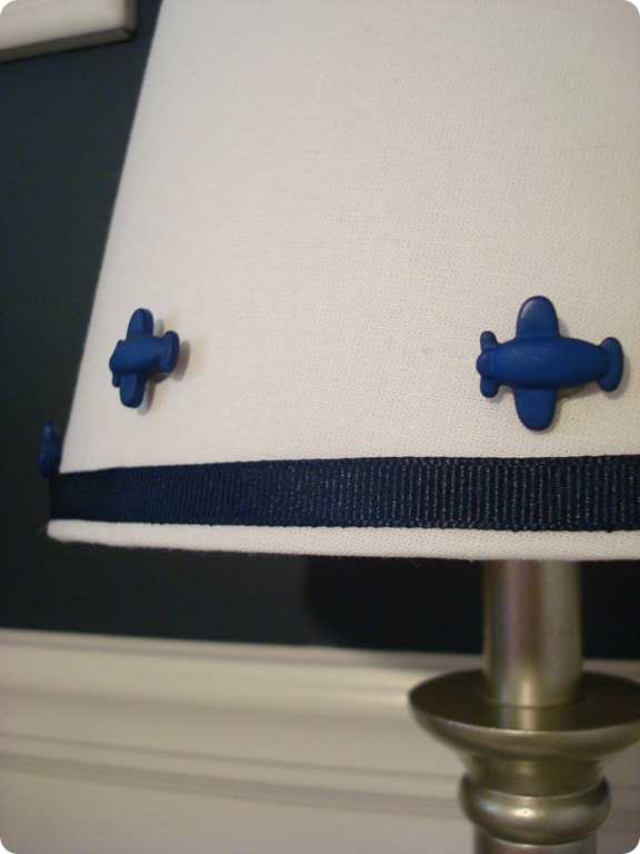 airplane lamp shade