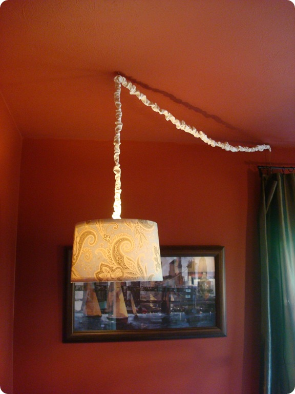 Diy Drum Shade Chandelier From Thrifty Decor Chick