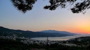 Aussicht von der Ayios Dimitrios Kapelle