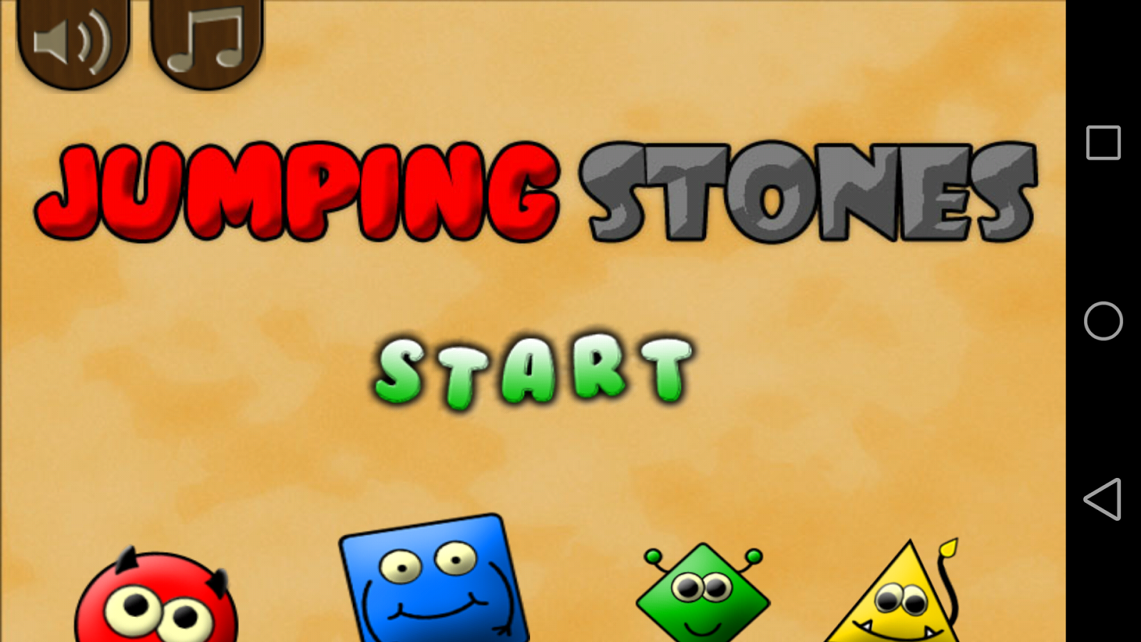 Jumping Stones (logic) - screenshot