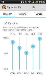 Equalizer FX - screenshot thumbnail