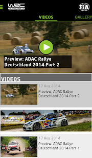 WRC – The Official App - screenshot thumbnail