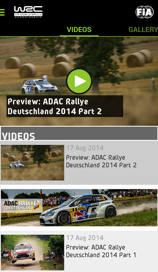 WRC – The Official App - screenshot