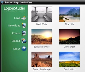 Logon Studio Vista