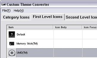 PSP Custom Theme Converter