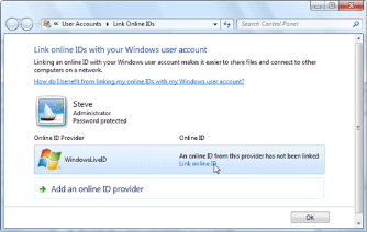 Windows 7 Live ID Sign-in Assistant