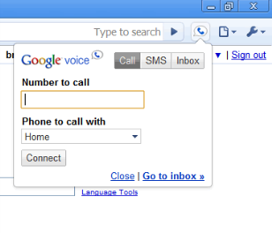 Google Voice for Chrome