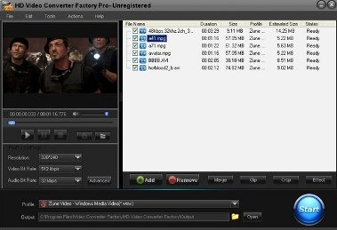 iPhone iPod Touch HD Video Converter Factory
