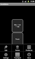 Screenshot of Droidmote beta