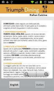 Gluten Free Italian- screenshot thumbnail
