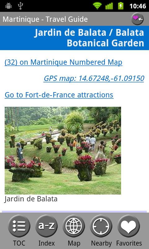 Martinique - Guide & Map - screenshot