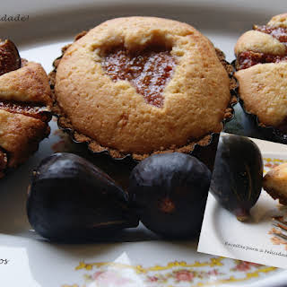 Figs with Almond Tartlets Temptation.