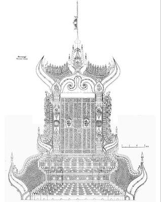 Lion Throne - Sihasana Throne