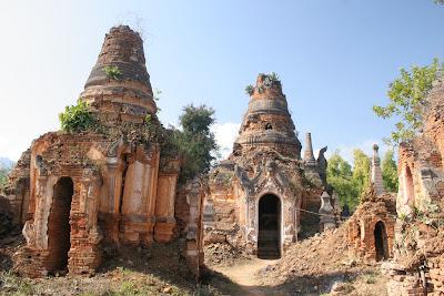 Inle Intein Nyaung Oak Ancient Pagodas