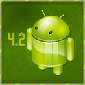 New Update Android 4.2 icon
