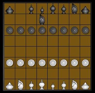 国际象棋在黑板上