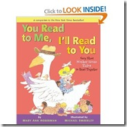 I read to you mother goose