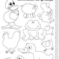 Dibujos De Animales De Granja