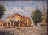 Pohľad na Miestny úrad v Golse
