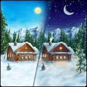 Drawn Winter Wallpaper