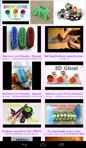 Rainbow Loom New Designs