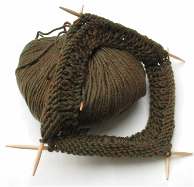 Knitting for troops