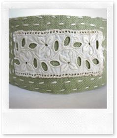 Linen Fabric Cuff