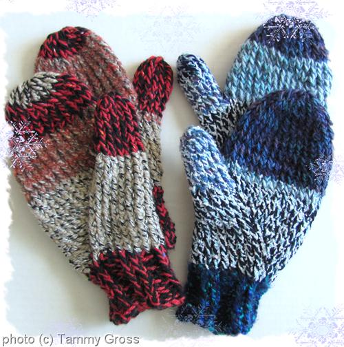Tamdoll's Knit Mittens