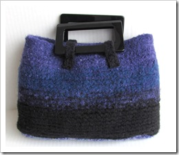 Tamdoll's Purple Passion Wool Purse