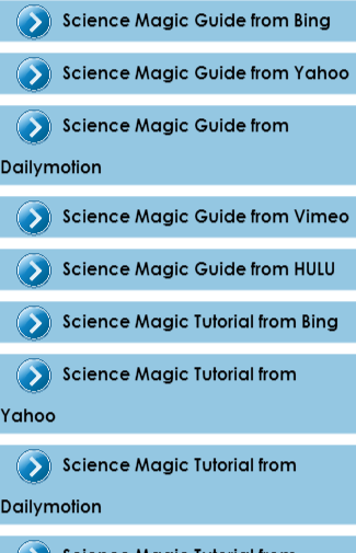 Science Magic Guide