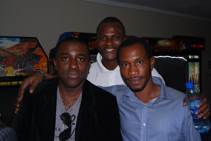 Frank Edoho and guests