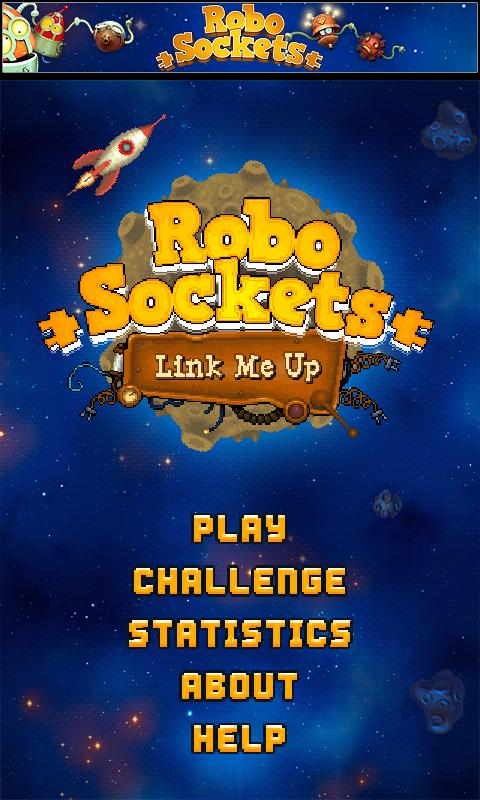 RoboSockets: Link Me Up Free - screenshot