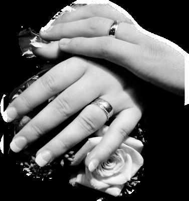 Mão com toque de amor