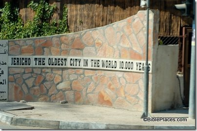 Jericho oldest city in world sign, tb091504778