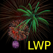LWP Fireworks, Live Wall Paper