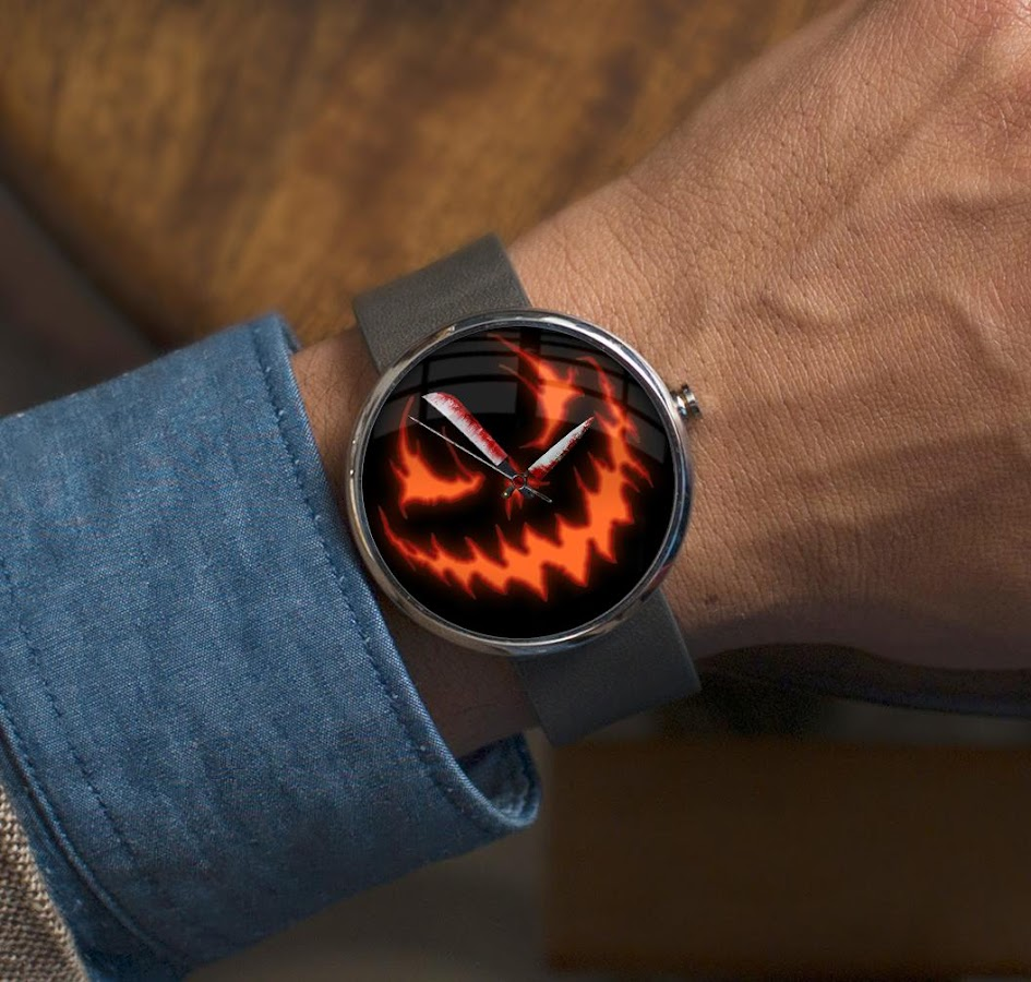 Watch Face Halloween for Wear - Android Apps on Google Play