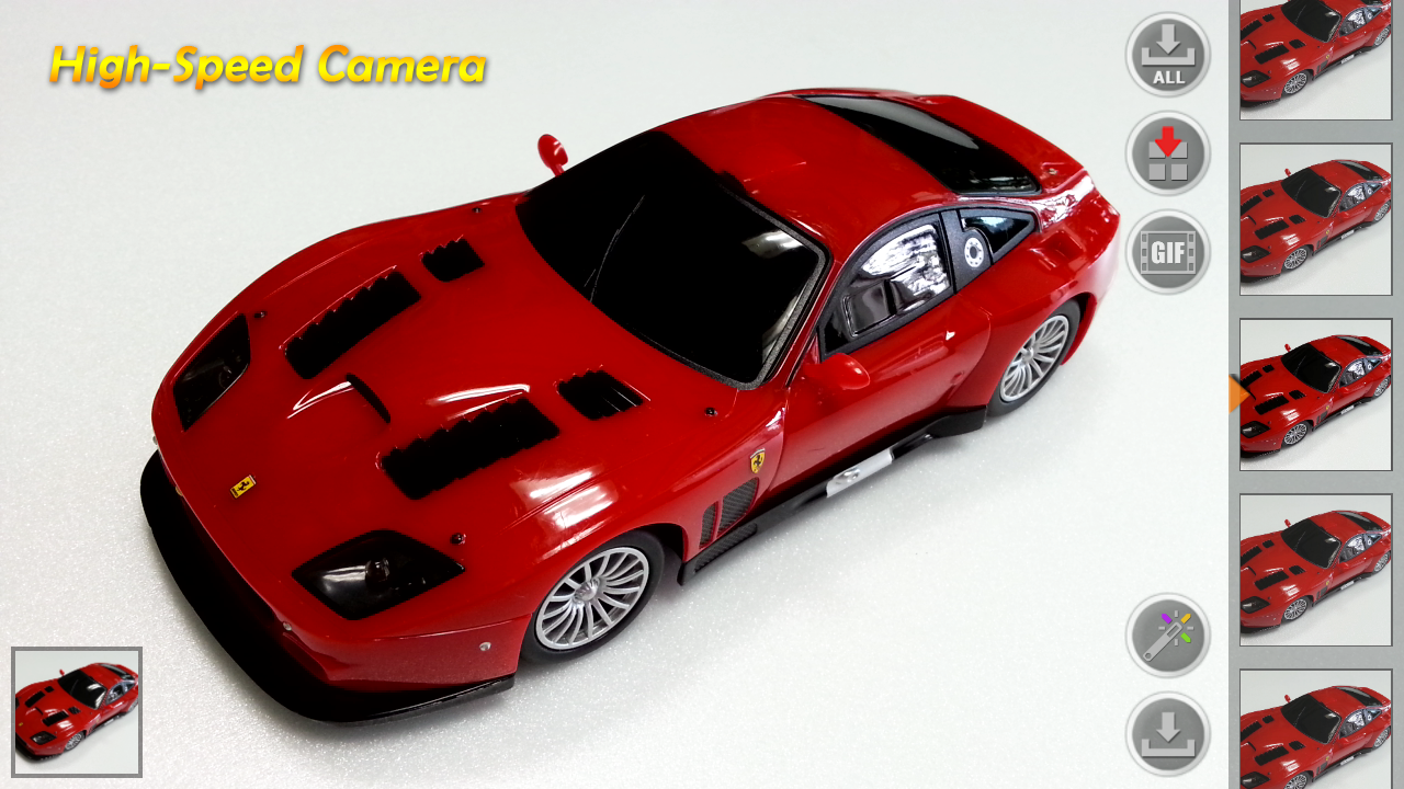 High-Speed Camera Plus - screenshot