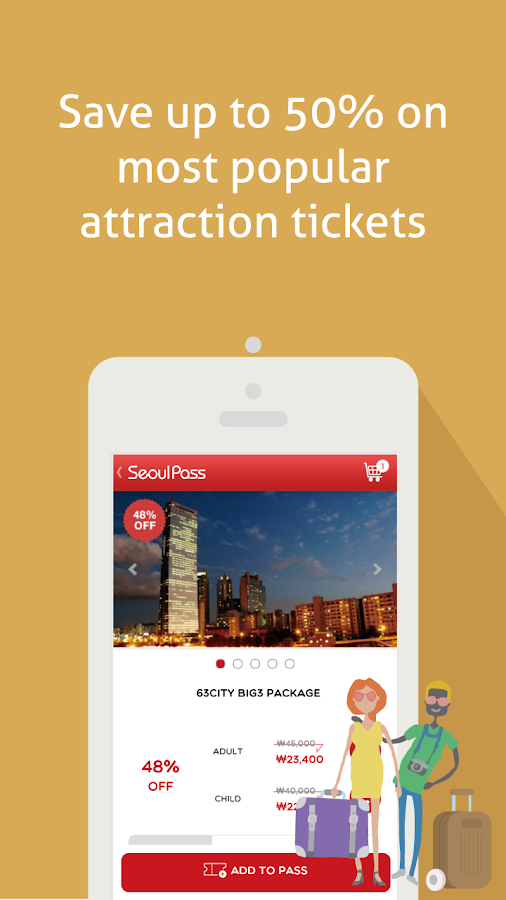 Seoul PASS [Ticket&Tour Korea]: captura de pantalla