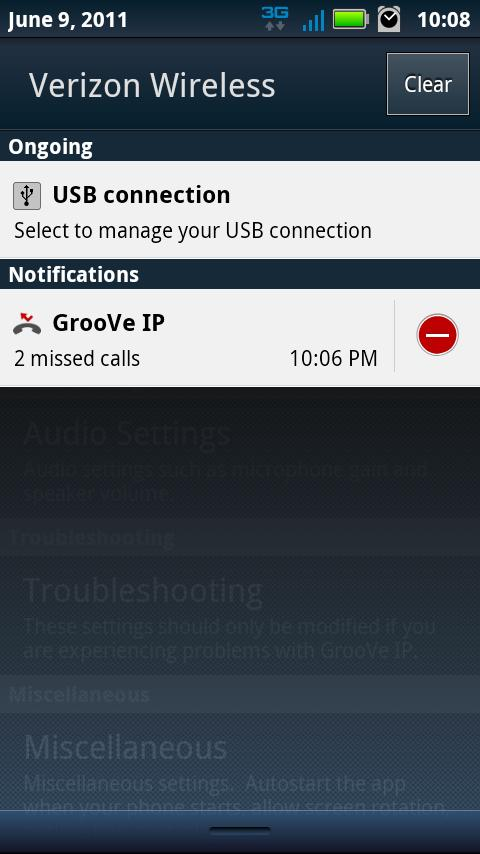 GrooVe IP - Free Calls- screenshot
