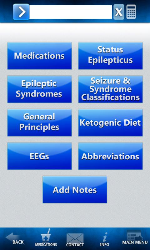 Epilepsy Treatment - screenshot